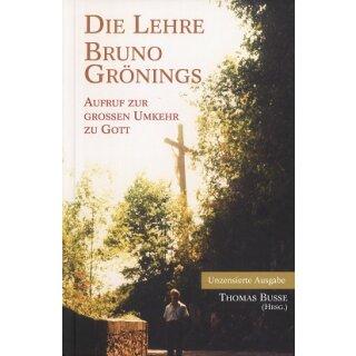 Thomas Busse: Die Lehre Bruno Grönings